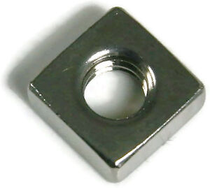 Stainless Steel Square Nuts Unc 3 8 16 Qty 250