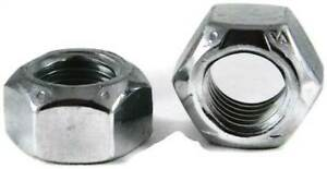 Stover Hex Lock Nut Grade C Prevailing Torque Lock Nuts 3 8 24 Unf qty 1000