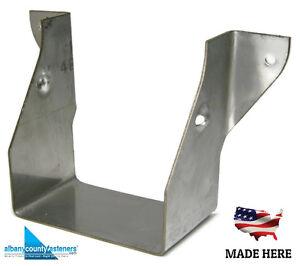 316 Stainless Steel Joist Hangers Jus24 2 Lus24 2 Deck 2 X 4 Double Qty 10