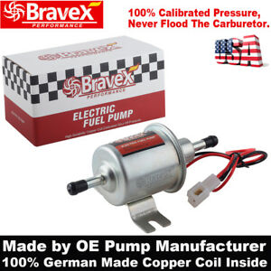 Bravex Brand New Universal Low Pressure Gas Diesel Electric Fuel Pump 12v