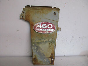 International 460 Tractor Original Right Side Grille Panel