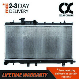 Radiator For Subaru Impreza 2004 2007 2 0 2 5 H4 With Out Trans Cooler