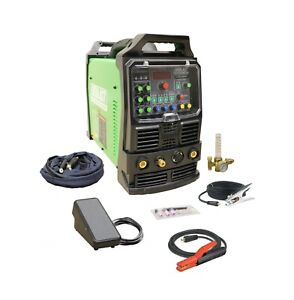 Powertig 250ex Gtaw p 250amp Acdc Tig Stick Pulse Welder By Everlast