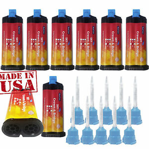 Temporary Crown And Bridge Material With 10 Mixing Tips 1 1 All Shades Temp C