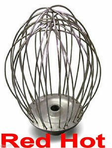Omcan 17611 Stainless Wire Whip 140 Qt For Hobart Mixer Mixing Wa140