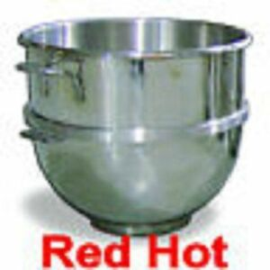 Omcan 14248 Stainless Steel 60 Qt Mixing Bowl Hobart Mixer 20 30 80 140