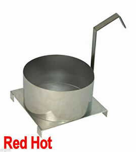 New Paragon 6 Funnel Cake Mold Ring With Base Plate For Funnel Cake Fryer 4020