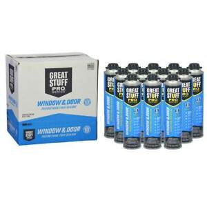 Dow Great Stuff Pro Window Door 2 Sealed Cases 24 Cans
