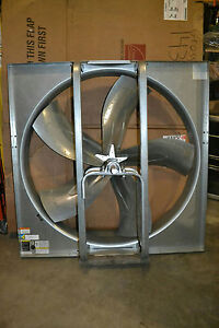 Dayton 1aha5 48 dia Exhaust Fan Medium Duty Belt Drive Less Drive Package