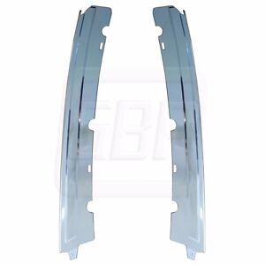 81 88 Monte Carlo Gp Coupe Chrome Anodized B Lock Pillar Drip Molding Trim Set