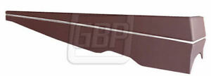 78 88 Regal Cutlass Repro Floor Console Center Lower Section In Burgundy