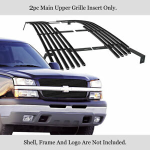 Fits 2003 2006 Chevy Avalanche 03 05 Silverado 1500 Stainless Black Bille