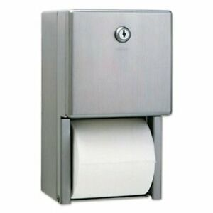 Bobrick Stainless Steel Dual Roll Toilet Paper Dispenser bob2888