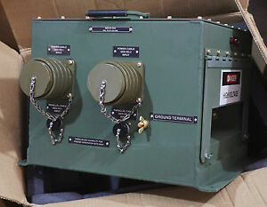 Military Tq Diesel Generator Power Transfer Box 6110 01 264 2069 1195 13226e6292