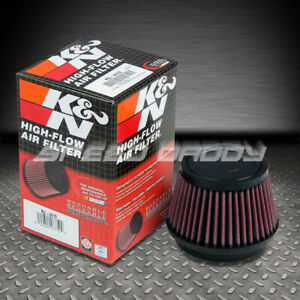 K n Round Tapered Cotton 3 5 Air Intake Piping Rubber Filter Clamp on Ru 4410