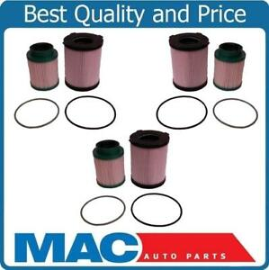 New For Nissan 16 18 Titan Xd 5 0l 6pcs Diesel Fuel Filters Recommeded Service