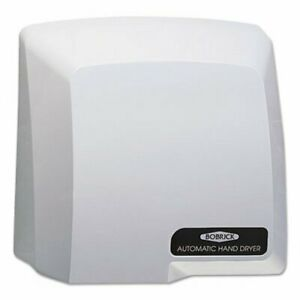 Bobrick Compact Automatic Hand Dryer 115v Plastic Cover Gray bob710