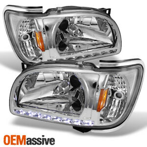 Fits 01 04 Toyota Tacoma Clear Replacement Led 1pc Headlights Corner Signal Lamp
