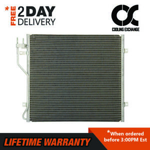 3596 Condenser For Jeep Liberty 2006 2007 2 8 L4 3 7 V6