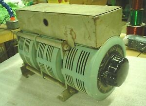 3 Phase Powerstat Variable Autotransformer Type 136b 3 Used 60 Day Warranty