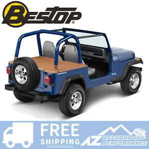 Bestop Duster Deck Cover 92 95 Jeep Wrangler Yj Spice W Factory Hard Top