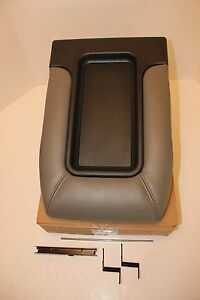 New Center Console Lid Gray Chevrolet Chevy Tahoe 2001 2002 2003 2004 2005 2006