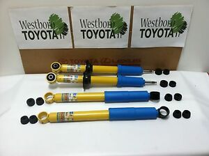 Toyota Tacoma 1998 2004 4wd Oem Genuine New Front And Rear Bilstein Shocks Set