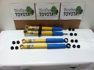 Toyota Tacoma Prerunner 1998 2004 Oem Genuine New Front And Rear Bilstein Shocks