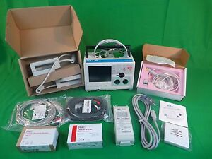 Zoll M Series 12 Lead Ecg Spo2 Etco2 Aed Pace Pads Battery 60 Day Warranty