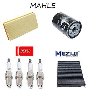 Tune Up Kit Cabin Air Oil Fuel Filters Plugs For Volkswagen Beetle 2 0l 98 05