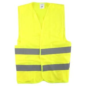 Reflective Safety Vest 20 Pc High Visibility Jacket Security Construction Rider
