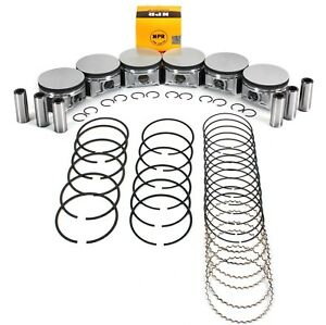 std Size Piston Ring Set For Dodge Chrysler 2 7l 167 2700 Charger Magnum 300
