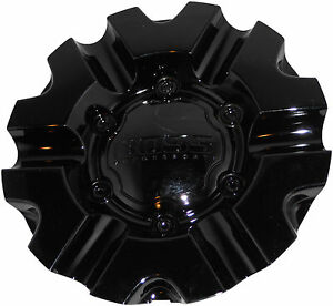 New Boss Motorsports 331 Wheel Rim Center Cap Acc 3215 02 Snap In Gloss Black