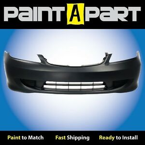 Fits 2004 2005 Honda Civic Hybrid Front Bumper Cover premium Painted