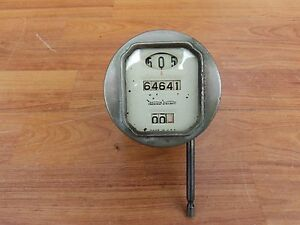 Vintage Teens Twenties Stewart Warner White Face Speedometer