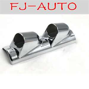Electroplated 52mm 2 Inch Gauge Holder Pod Double Lhd New