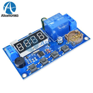 Real time Relay Module Timing Switch Control Synchronization Delay Timer