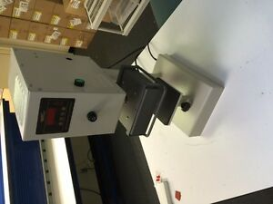 Instagraphic Model 909 Automatic Heat Press Pneumatic Actuation W Foot Pedal