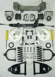 1949 1954 Chevy Car Mustang Ii Bolt On Power Front End Suspension Kit Ifs