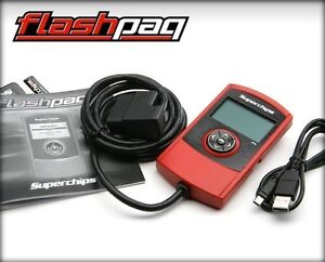 Superchips Flashpaq Handheld Tuner For 2002 2003 Dodge Ram 1500 4 7l 21 Hp