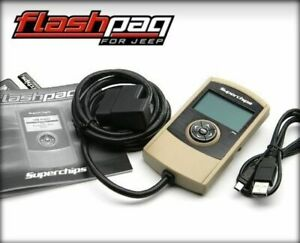 Superchips Flashpaq Handheld Tuner For 2012 2014 Jeep Wrangler Jk 3 6l 30 Hp