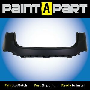 Fits 2012 2013 Hyundai Tucson Rear Upper Bumper Cover Hy1100178 Painted