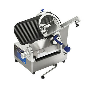 Vollrath 40955 Manual Electric Heavy Duty Food Slicer W 13 Blade