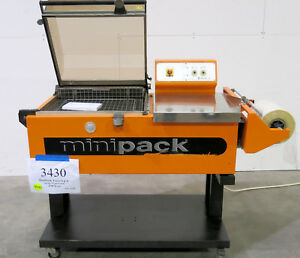 Minipack torre Fm76 Seal Shrink Wrap Packaging System Inventory 3430