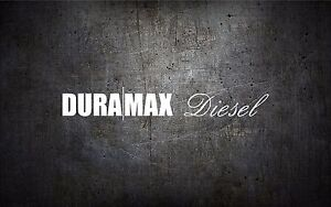 Duramax Diesel 22 Windshield Banner Vinyl Car Sticker Decal