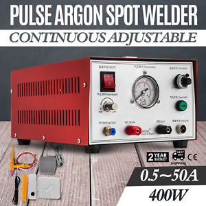 Pulse Argon Sparkle Spot Welder Jewelry Welding Machine Gold Silver Platinum
