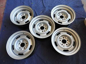 5 Matching Dates 15x7 Yh Rally Wheel 1969 Camaro Chevy Z 28 Date K 1 9 10 29