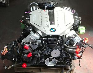 Used 09 12 Bmw 4 4l Twin Turbo F01 750i Engine Imported From Japan