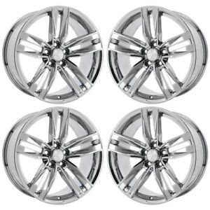 20 Camaro Rs Pvd Chrome Wheels Rims Factory Oem 2017 2018 Set 4 5762 Exchange