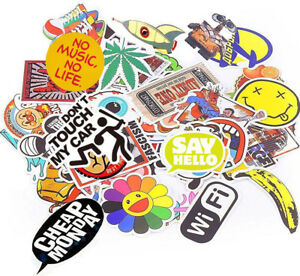 1000pcs Skateboard Sticker Laptop Car Luggage Bomb Bumper Bicycle Graffiti Decal